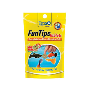 Tetra Fun Tips Tablets Complete food for all Tropical fish