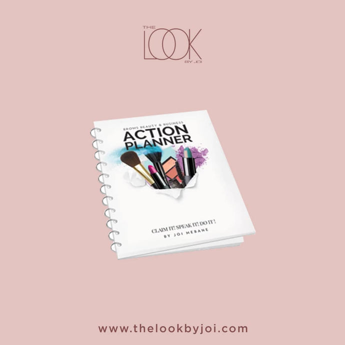 Brows, Beauty and Business Action Planner