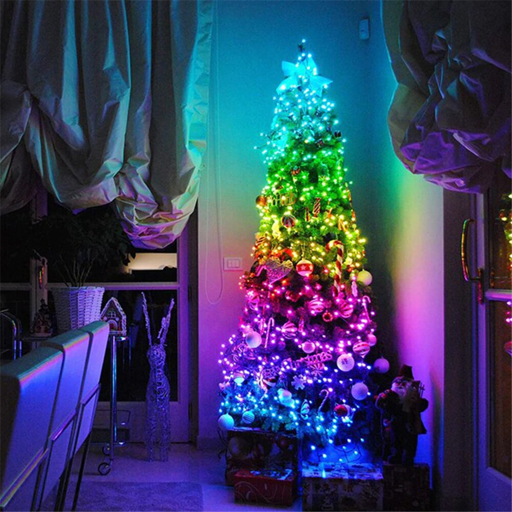 Colored Tree Lights™ | Förvandla julgranen till en ljusshow