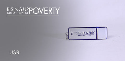 Rising Up Out Of The Pit Of Poverty USB