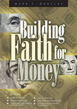 Building Faith for Money