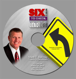 Six Ways to Check Your Leadings CD