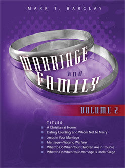Marriage and Family (Vol. 2)