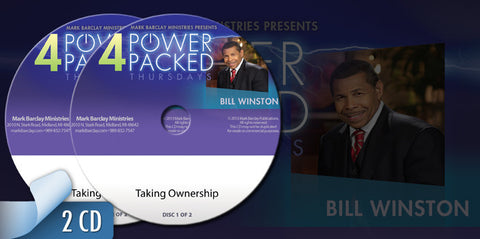 Dr. Bill Winston: Taking Ownership CD