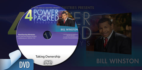 Dr. Bill Winston: Taking Ownership DVD