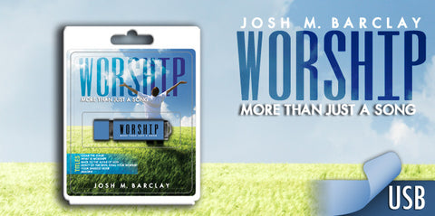 Worship: More Than Just A Song USB