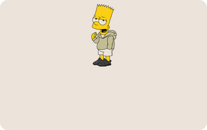 Bart With Yeezy's