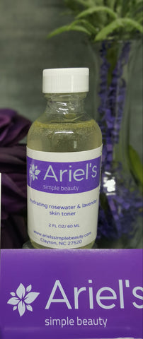 Hydrating Rose Water and Lavender Skin Toner