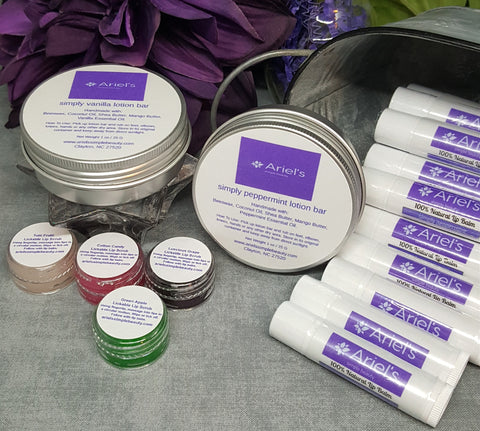 Moisture Bundle - Lotion Bar, Lip Balm, and Lip Scrub