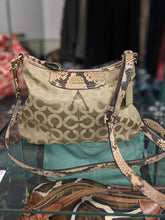 Load image into Gallery viewer, COACH Chelsea Jayden Exotic Signature Snakeskin Purse