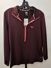 Load image into Gallery viewer, VS PINK Maroon Athletic Jacket