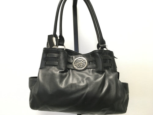 Sienna Ricchi Black Leather Hand Bag