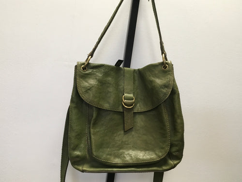Fossil Moss Green Cross Body Purse