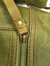 Load image into Gallery viewer, Fossil Moss Green Cross Body Purse