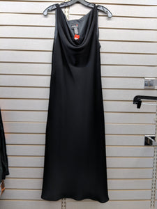 Scarlet- Long Black Special Occasion Dress
