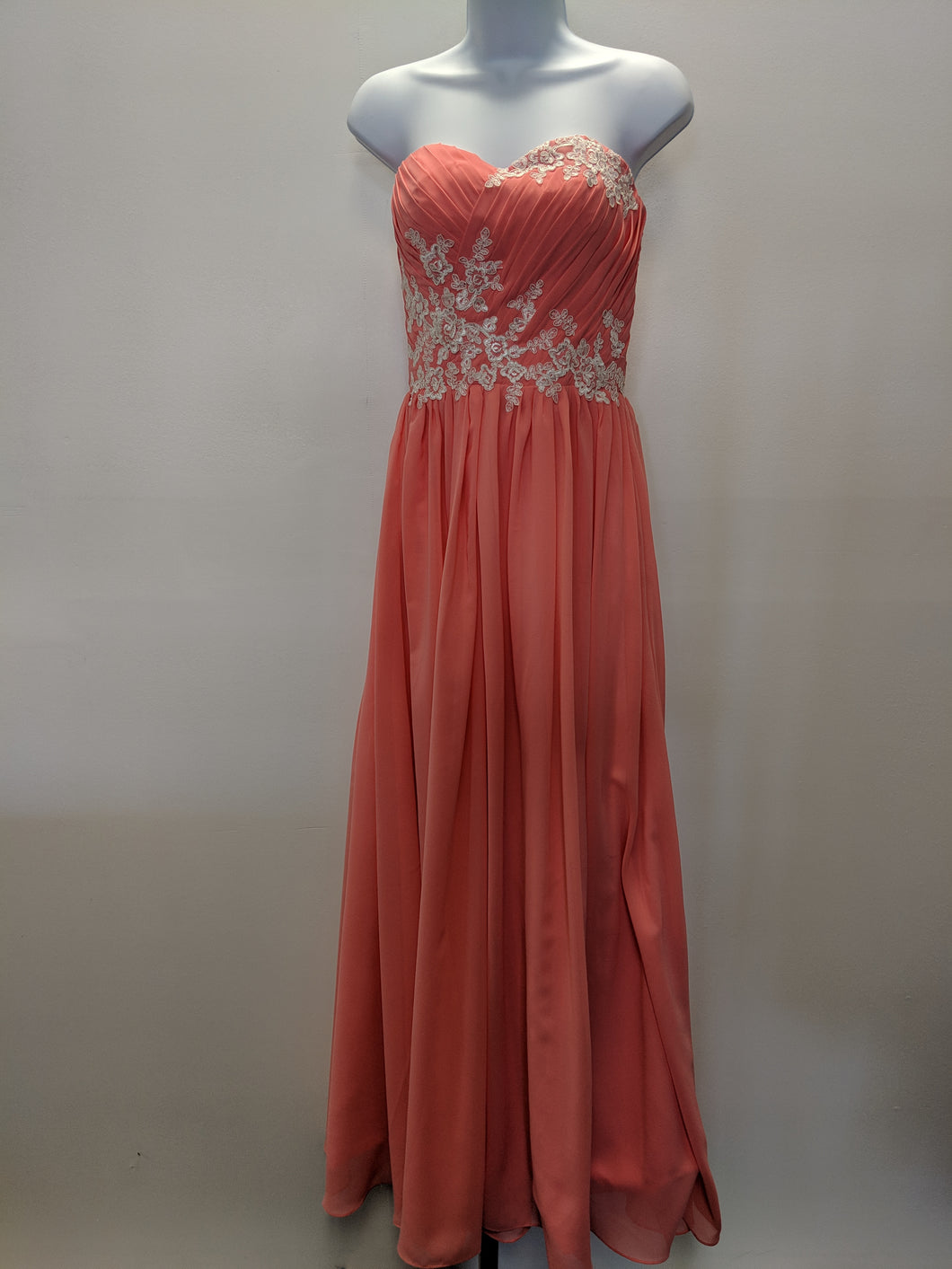 C3-4 Coral Prom Dress for your Special Occasion