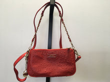 Load image into Gallery viewer, DNKY Burnt Sienna Ostrich Crossbody