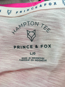 C13-13 Hampton Tee Peach T-Shirt