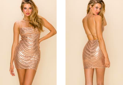 Sequin Little Party Dress