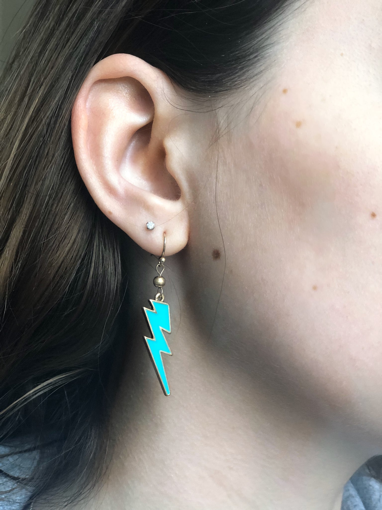 Lighting Bolt Earrings