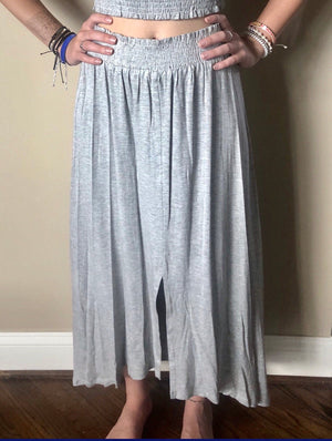 grey simply cozy skirt