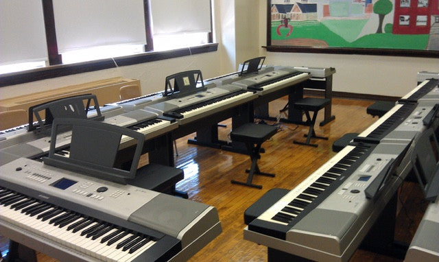 Setting up a Piano Lab
