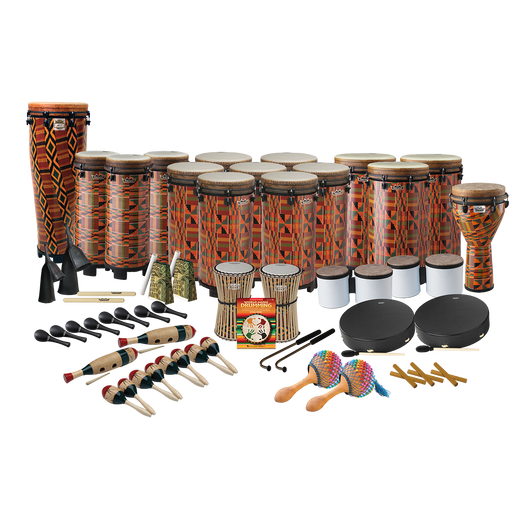 Remo World Music Drumming Drum Pack, Package B