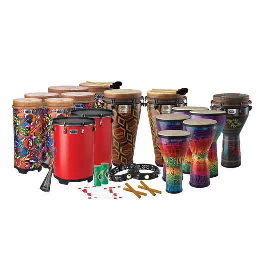 Remo Arthur Hull Drum Circle Drum Pack, Small