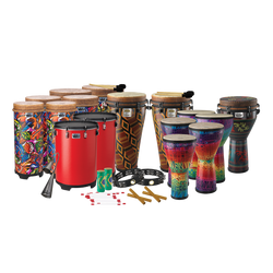 Remo Arthur Hull Drum Circle Drum Pack, Medium