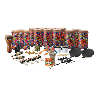 Remo World Music Drumming Drum Pack, Package E