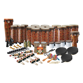 Remo World Music Drumming Drum Pack, Package A