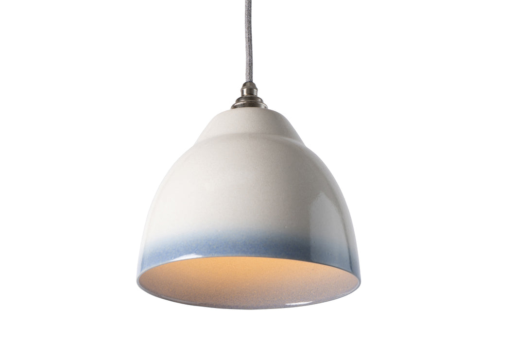 Blue and White Element Ceramic Shade