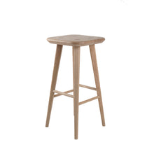 Load image into Gallery viewer, wooden bar stool