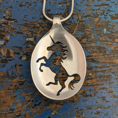 Everyone loves a Unicorn Spoon Pendant