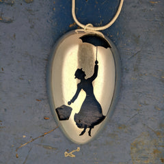 Mary Poppins Spoon pendant