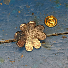Four Leaf Clover Brooch Pin
