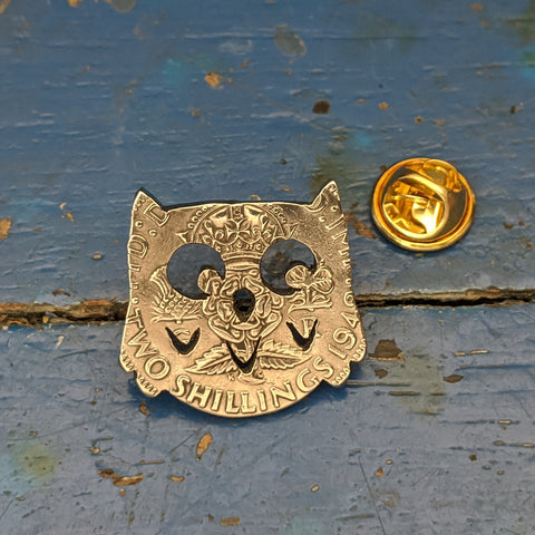 Owl Brooch Pin
