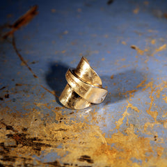 Whole Plain Teaspoon Ring