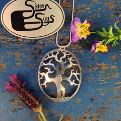 Joshua Tree Spoon Pendant