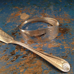Edwardian Fish Knife Bracelet