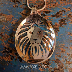 King of All, Lion Spoon Pendant