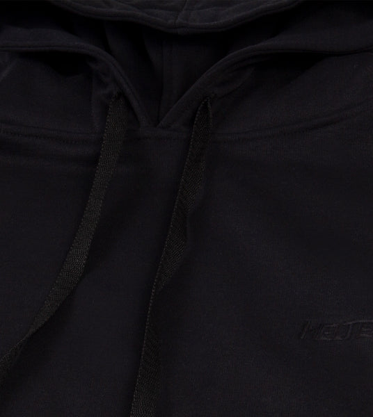 "Hoodie Melted classic ""Negro"""