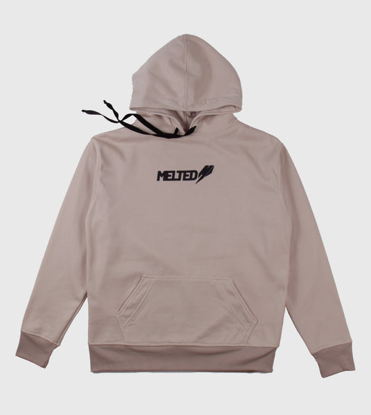 "Hoodie Melted ""Camel"""