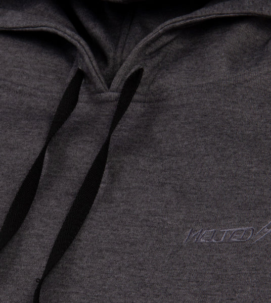 "Hoodie Melted classic ""Gris"""