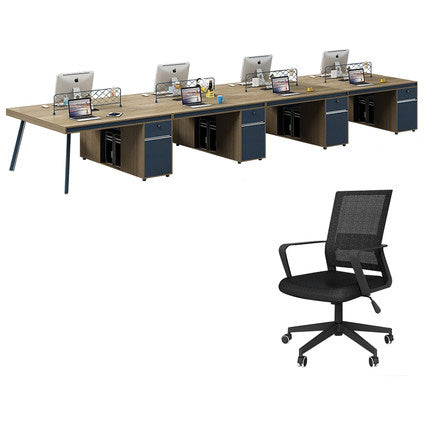 辦公室組合職員辦公枱 Modern Stylish Office Combination Staff Desk