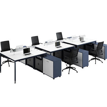 辦公室簡約現代組合職員枱 Office Simple Modern Combination Staff Desk