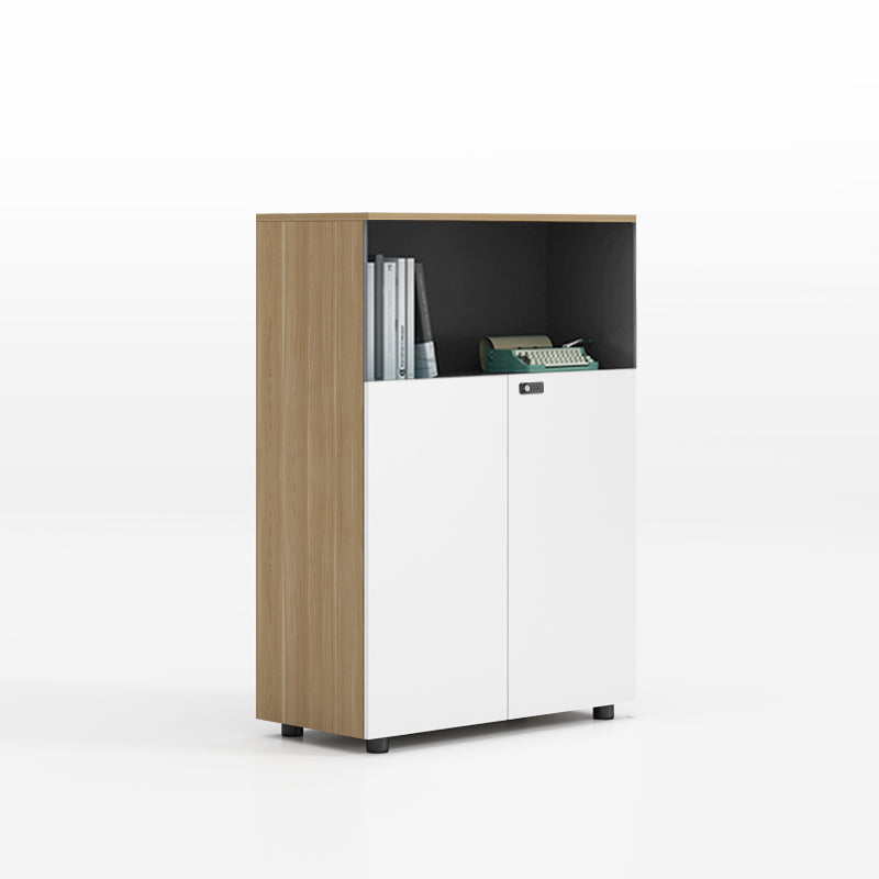 辦公室可組合文件收納木製櫃 Office Combination File Storage Wooden Cabinet