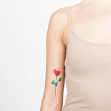 Tattoonie Temporary Tattoos rose conrad roset flower