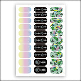 Tattoonie Temporary Tattoos Ghetto Nailz Pack