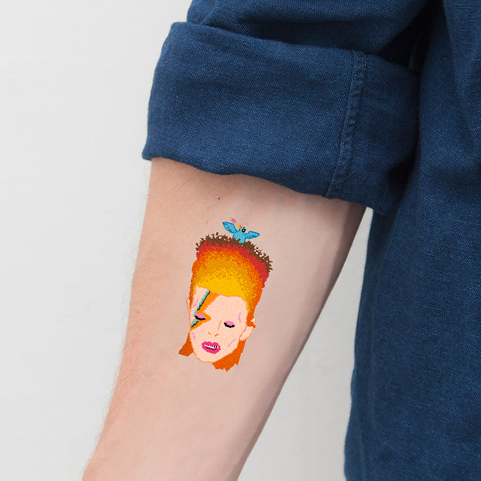 Tattoonie Temporary Tattoos david blowie bowie